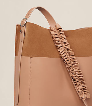 Women's Maya North South Tote (LIGHT CARAMEL) - product_image_alt_text_3