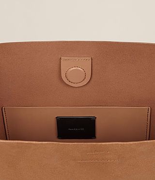Women's Maya North South Tote (LIGHT CARAMEL) - product_image_alt_text_6