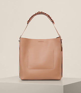 Women's Maya North South Tote (LIGHT CARAMEL) - product_image_alt_text_7
