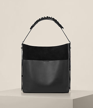 Womens Maya North South Tote (Black)
