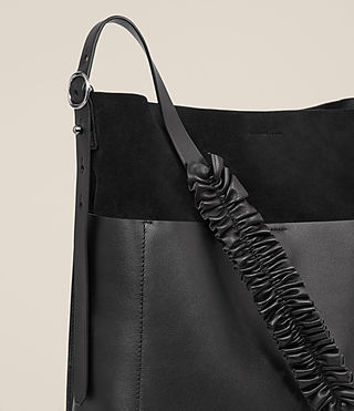 Womens Maya North South Tote (Black) - product_image_alt_text_3