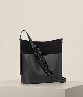 Womens Maya North South Tote (Black) - product_image_alt_text_5