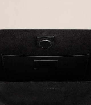 Womens Maya North South Tote (Black) - product_image_alt_text_6