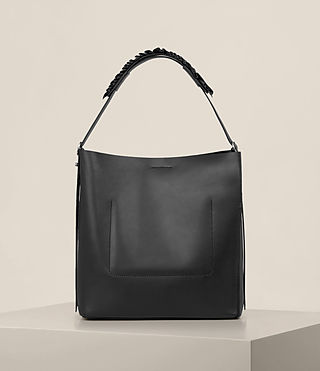 Womens Maya North South Tote (Black) - product_image_alt_text_7