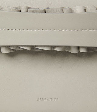 Mujer Maya Clutch (LIGHT CEMENT GREY) - product_image_alt_text_4