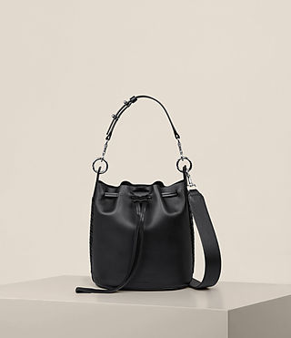 Women's Ray Small Bucket Bag (Black) - Image 1