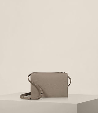 Women's Fetch Wallet Crossbody (TAUPE GREY) - Image 1