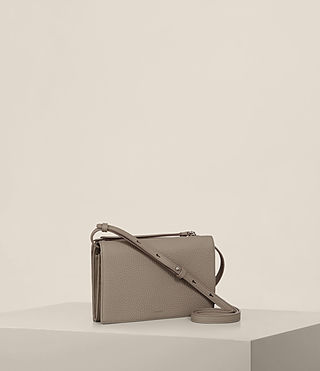 Women's Fetch Wallet Crossbody (TAUPE GREY) - Image 4