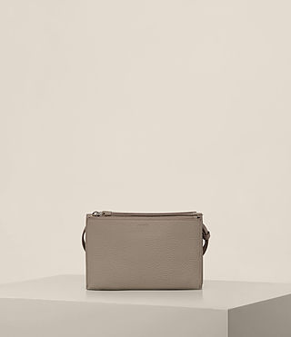 Women's Fetch Wallet Crossbody (TAUPE GREY) - Image 8