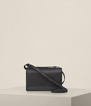Women's Billie Wallet Crossbody (Black) - Image 1