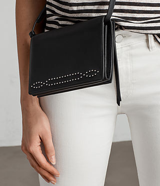 Women's Billie Wallet Crossbody (Black) - Image 2