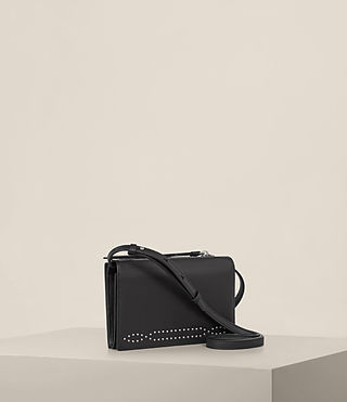 Women's Billie Wallet Crossbody (Black) - Image 4