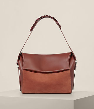 Womens Maya Shoulder Bag (SIENNA BROWN) - product_image_alt_text_1