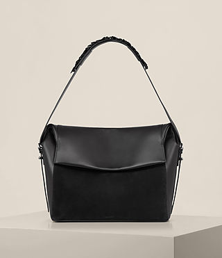 Womens Maya Shoulder Bag (Black)