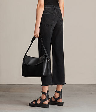 Damen Maya Shoulder Bag (Black) - product_image_alt_text_2