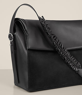 Damen Maya Shoulder Bag (Black) - product_image_alt_text_3
