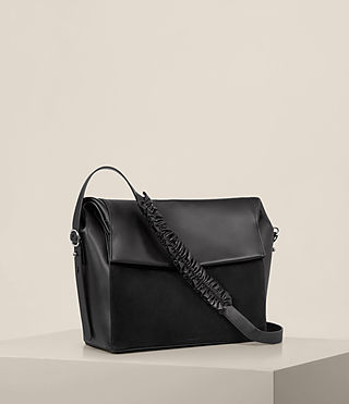 Damen Maya Shoulder Bag (Black) - product_image_alt_text_5