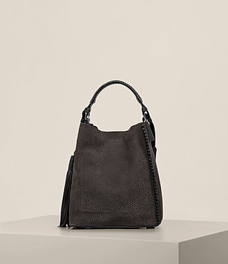 Donne Borsa hobo Pearl Mini (Graphite/Black) - product_image_alt_text_7