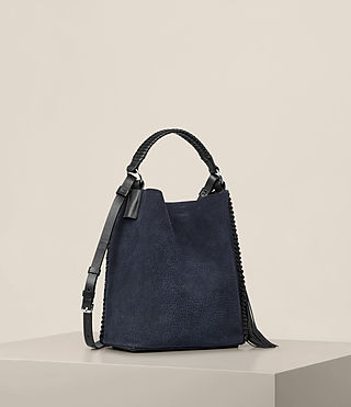 Donne Borsa hobo Pearl Mini (MARINE BLUE/BLACK) - product_image_alt_text_5
