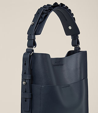 Womens Maya Mini North South Tote (Marine Blue) - product_image_alt_text_3