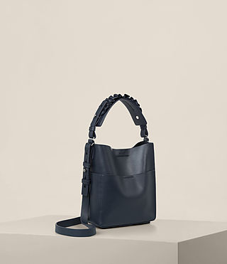 Womens Maya Mini North South Tote (Marine Blue) - product_image_alt_text_5
