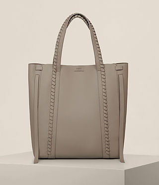Femmes Sac Tote Ray North South (TAUPE GREY) - Image 1