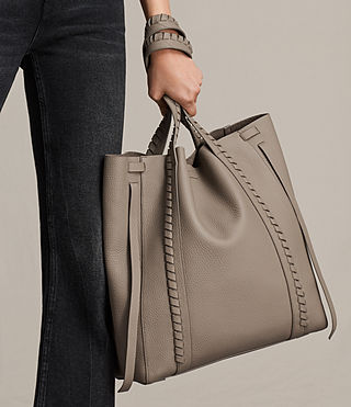Femmes Sac Tote Ray North South (TAUPE GREY) - Image 2