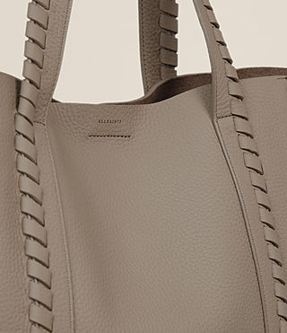 Femmes Sac Tote Ray North South (TAUPE GREY) - Image 3