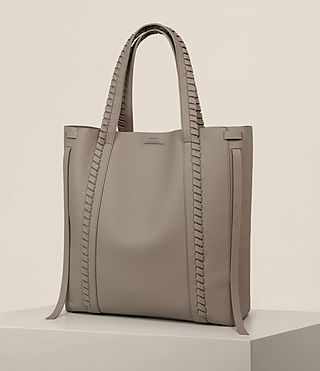 Femmes Sac Tote Ray North South (TAUPE GREY) - Image 5