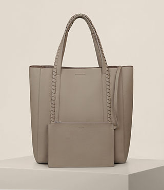 Femmes Sac Tote Ray North South (TAUPE GREY) - Image 7