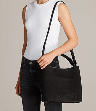 Women's Cooper East West Tote (Black) - product_image_alt_text_2
