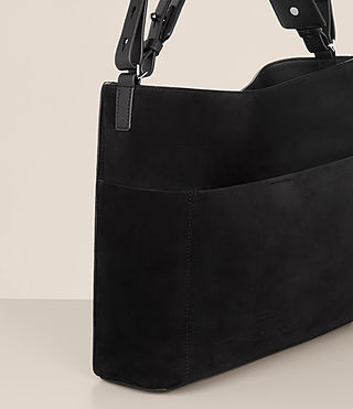 Women's Cooper East West Tote (Black) - product_image_alt_text_3