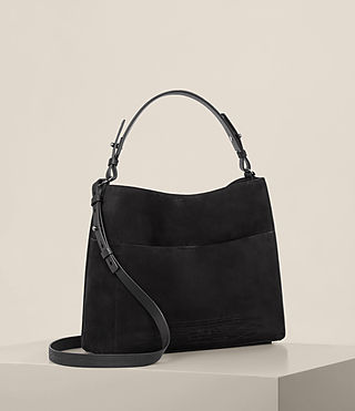 Women's Cooper East West Tote (Black) - product_image_alt_text_5