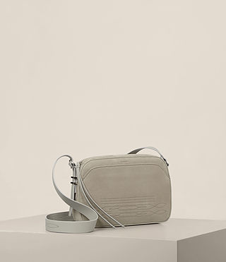 Damen Cooper Kameratasche (LIGHT CEMENT GREY) - Image 5