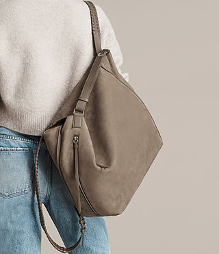 Women's Cooper Backpack (Ash Grey) - product_image_alt_text_3