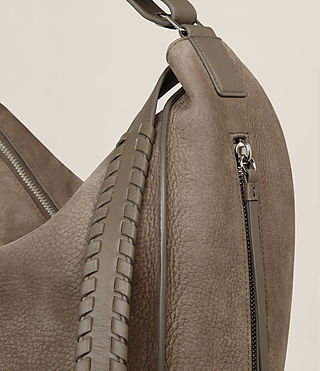 Women's Cooper Backpack (Ash Grey) - product_image_alt_text_5