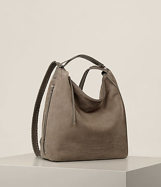 Women's Cooper Backpack (Ash Grey) - product_image_alt_text_7