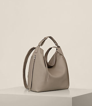 Womens Kita Small Backpack (TAUPE GREY) - Image 7