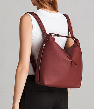 Damen Kita Sm Backpack (BERRY RED) - Image 2