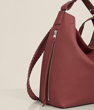 Damen Kita Sm Backpack (BERRY RED) - Image 5