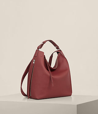 Damen Kita Sm Backpack (BERRY RED) - Image 7