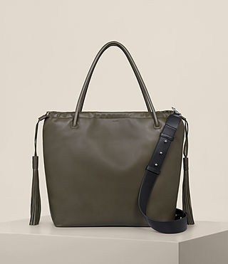 Damen Dive East West Tote (Dark Khaki) -