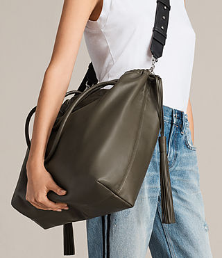 Damen Dive East West Tote (Dark Khaki) - product_image_alt_text_3