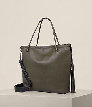 Damen Dive East West Tote (Dark Khaki) - product_image_alt_text_6