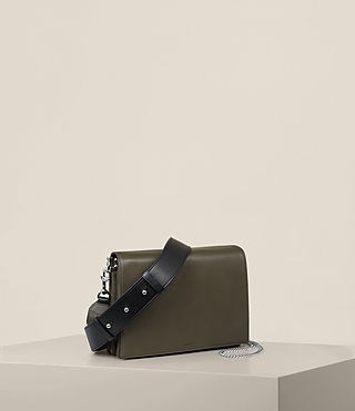 Donne Borsa Zep Box (Dark Khaki) - product_image_alt_text_7