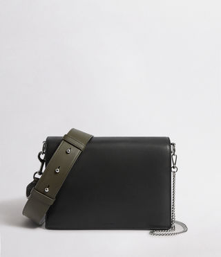 Womens Zep Box Bag (Black) - product_image_alt_text_1