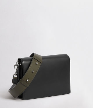 Womens Zep Box Bag (Black) - product_image_alt_text_2