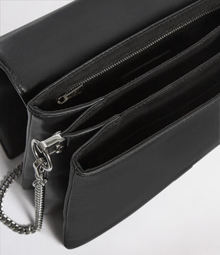 Women's Zep Box Bag (Black) - product_image_alt_text_5