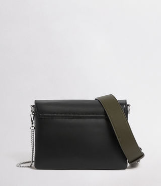 Womens Zep Box Bag (Black) - product_image_alt_text_6