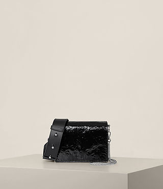Mujer Bolso Zep Shoulder (SHINY BLACK) - product_image_alt_text_1
